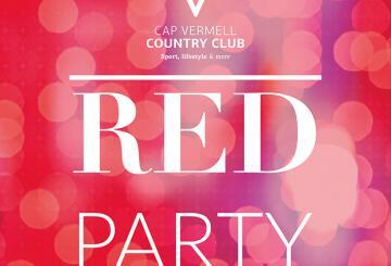 Cap Vermell Country Club opts for everything red in the...